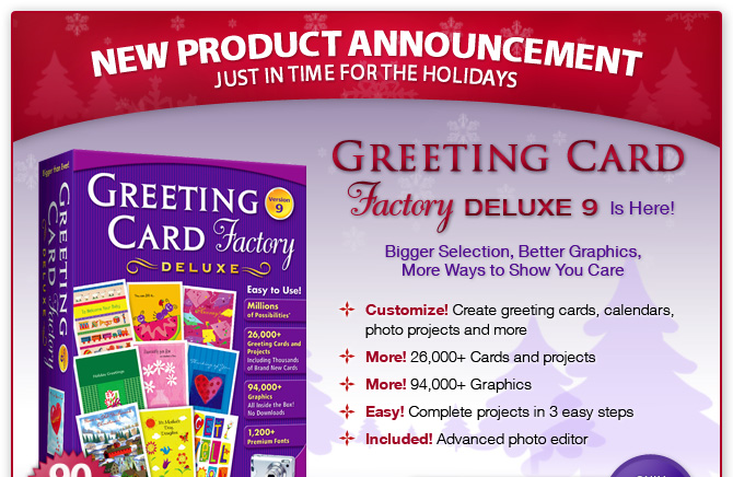 greeting card factory, Greeting card
