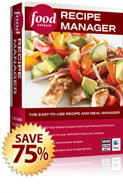 Food network recipe manager food network recipe manager save over 50 free shipping forumfinder Images