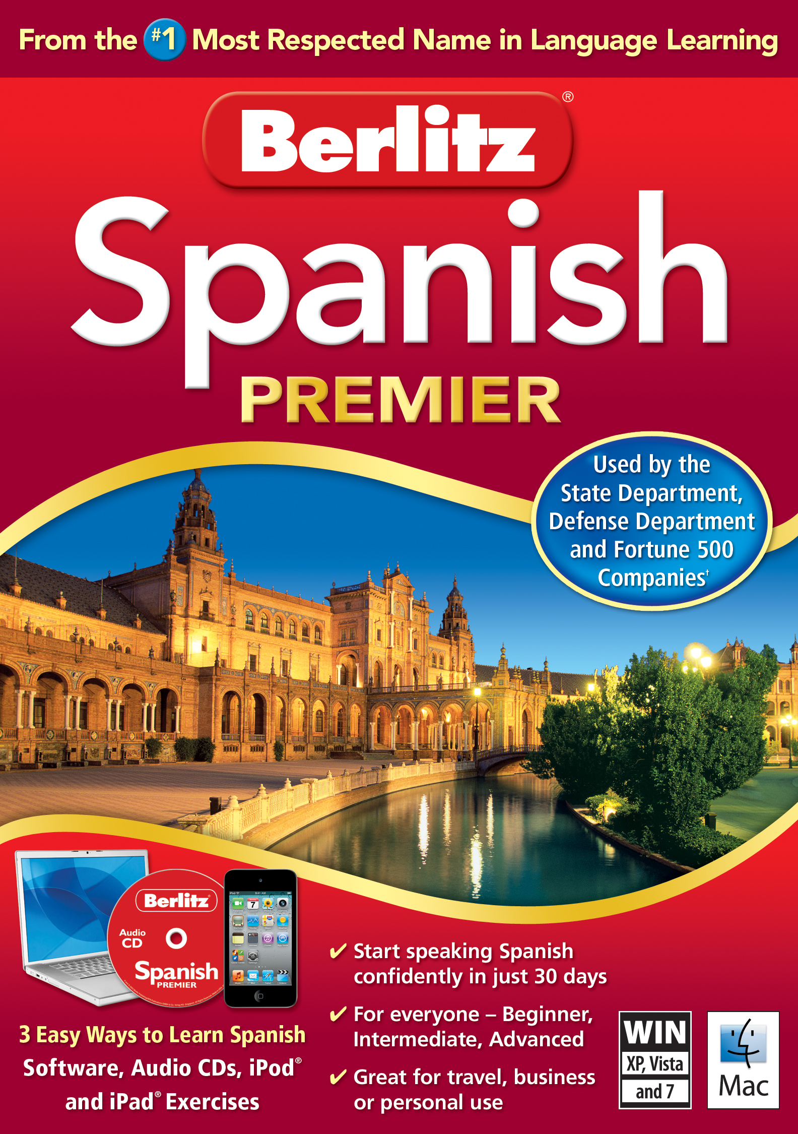 Berlitz Premier Language Software - Multilingual Books
