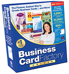Art explosion business card factory deluxe 30 for windows windows files download now reheart Images