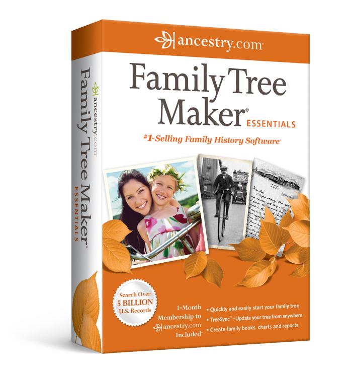 family tree maker essentials