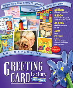 Art explosion greeting card factory 40 for windows mac files download now m4hsunfo