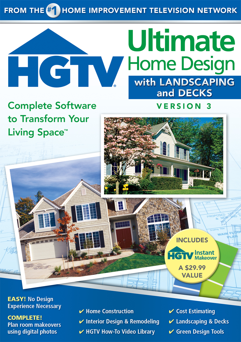 Virtual Design Room Online Free: HGTV Ultimate Home Design With Landscaping And Decks