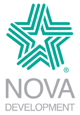 About Nova Development Corporation Develops and publishes consumer graphics and content software products for Windows and Macintosh platforms. Home to the Art Explosion clip art line, Print Explosion Deluxe, Greeting Card Factory, and Business Plan Writer Deluxe.