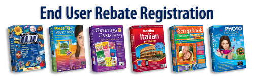 End User Rebate Registration