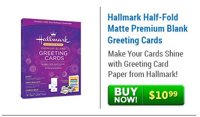 Half fold matte premium blank greeting cards hallmark half fold matte premium blank greeting cards m4hsunfo Gallery